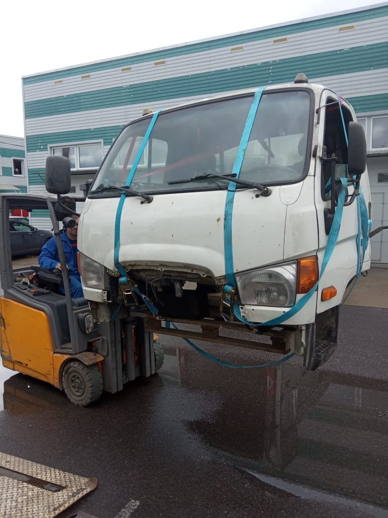 Кабина HD78 Hyundai